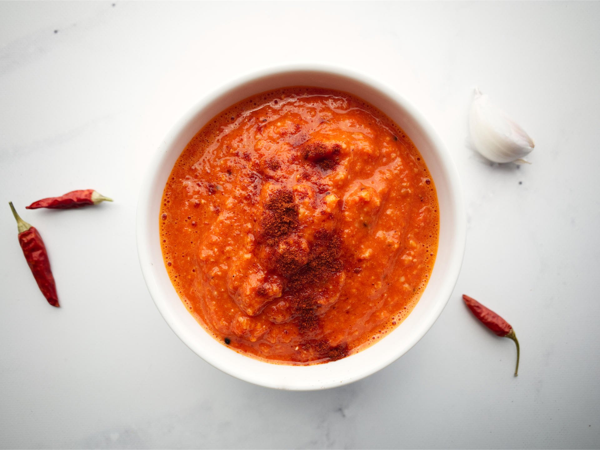 Roasted Capsicum Sauce